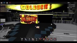 GoldBergs Entrance WWE 2k18 Roblox