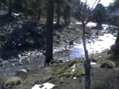 Viaje por Sudamerica di Giacomo Sanesi. Caviahue (ARG). 00894 – cascada de la culebra