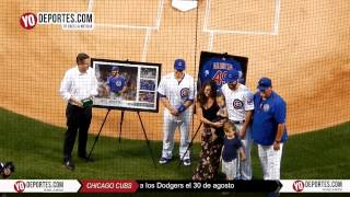 Jake Arrieta no hitter Wrigley Field pre game ceremony