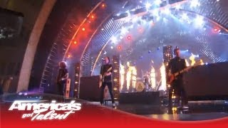 """Fall Out Boy - """"My Songs Know What You Did In the Dark"""" AGT Performance - America's Got Talent 2013"""