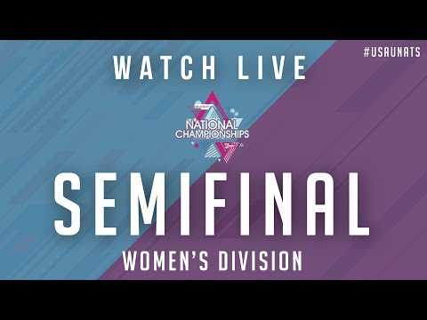 Video Thumbnail: 2019 National Championships, Women's Semifinal: Portland Schwa vs. Toronto 6ixers