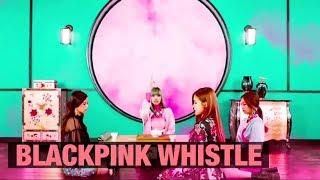 블랙핑크 휘파람 일본버전 리사 컷 Blackpink Japanese version Whistle Lisa Cut