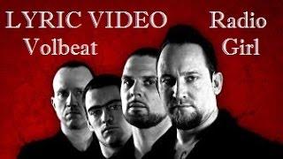 Volbeat - Radio Girl  - LYRIC VIDEO