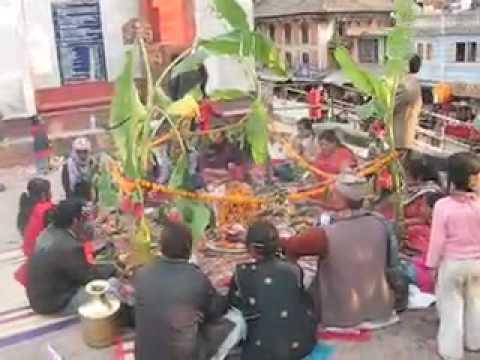 Rudri Pooja at Budanilkantha, Kathmandu, Nepal