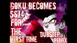 Goku Becomes SSJ4 For The First Time (DubStep remix) [Inspired by Lezbeepic]