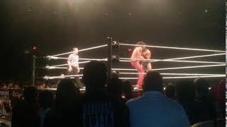 WWE Live Event Honolulu Jinder Mahal vs Shinseke Nakamura