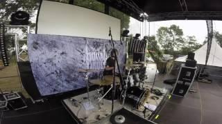 Burial Vault - Sanctimonious [Drumcam / Live @ Coast Rock Open Air 2016]