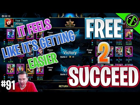 Is 3v3 Arena Getting Easier?? | Free 2 Succeed - EPISODE 91