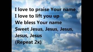 Sweet Jesus Lyrics by J Moss 1