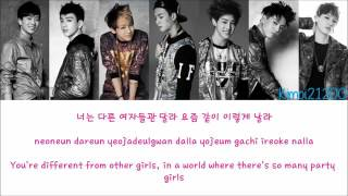 GOT7   I Like You 난 니가 좋아 Hangul Romanization English Color & Picture Coded HD