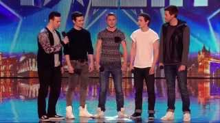 Britain's Got Talent S08E01 Collabro Amazing Classical / Musical Boy Band