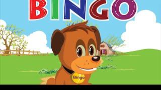 Bingo Dog Song - Nursery Rhyme With Lyrics   Cartoon Animation for Children