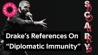 "Drake's ""Diplomatic Immunity"" References, Explained   Genius News"