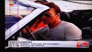 Tony Carreira grava videoclip não te vás sem mim no Algarve.