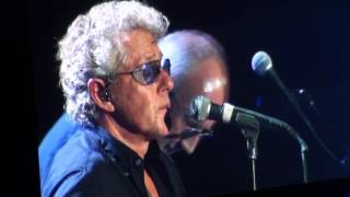 The Who (live in Bologna 17-9-2016) - Behind Blue Eyes