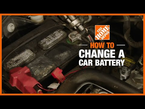 A video details how to change a car battery.