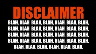 ALERT Use These 5 Disclaimers To Guaranty Video Will Not Be Taken Down For Copyright Infringement width=