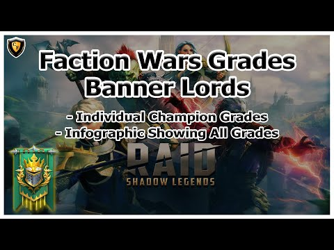 RAID Shadow Legends | Banner Lords Faction Wars Grades