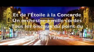 Joe Dassin - Champs-Élysées [Paroles]