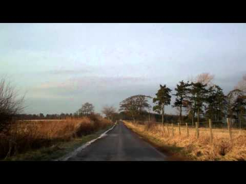 Morning Drive Rural Perthshire Scotland February 8th