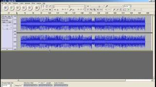 Convertir MP3 a WAV o WAV a MP3 en AUDACITY