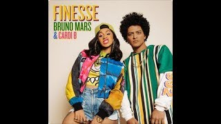 Bruno Mars - Finesse (Remix) [Feat. Cardi B] (Official Instrumental)