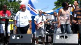 CV BOYS band performing live at RI Capeverdean Festival 2012