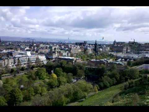 Panorama from Atop Edinburgh Castle