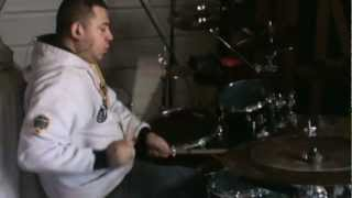 grupo andariego cumbia francesa - drum cover by gctmusic