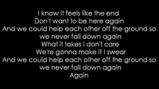 Faber Drive - Tongue Tied (Lyrics)