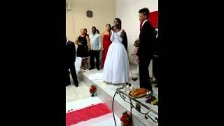 Louvor abençoado no casamento