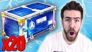 20 NEW TURBO ROCKET LEAGUE CRATE OPENING!