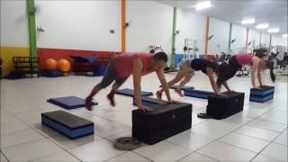 Circuito HITT Fitness #01 (Método Tabata - 25/15) 3 Séries