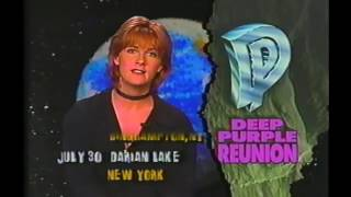USA Music report from 1993 with the Deep Purple Mark 2 reunion