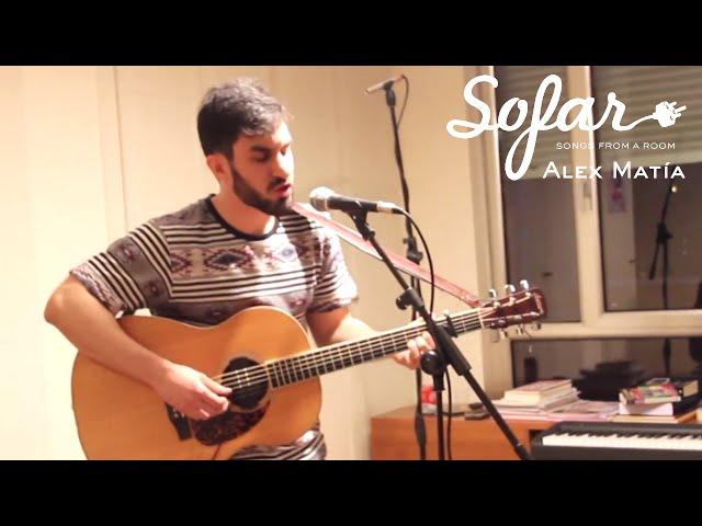 Vídeo de Alex Matía interpretando uno de sus temas en Sofar Sounds.