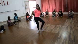 The Dance Hall - Little Kitana freestyling -