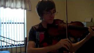 Elfen Lied - Lilium on Violin