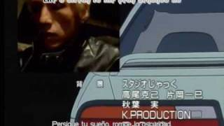 Initial D - First Stage - 1º ending - Rage Your Dream - Move