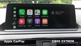 Apple CarPlay Demonstration 2017 BMW M240i xDrive Convertible F23 LCI