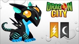 Dragon City - Getting Neon Dragon 100% (No Hack)