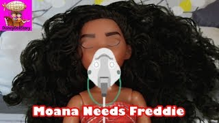 Moana Gets a Surgery - Part 3 - Moana is Sick Descendants Disney
