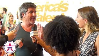 America's Got Talent: Simon Cowell PRAISES His Golden Buzzer + Talks About His Hollywood Star! 🙌