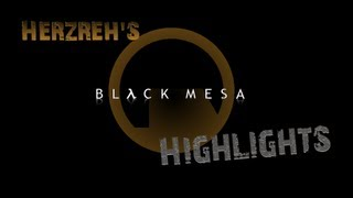 Microwaved Headcrab || Black Mesa Highlights