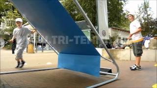 Tri-tennis® XL Tennis Wall - Official Demo Video - NEW