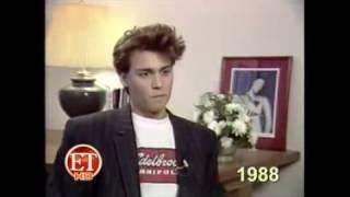 Johnny Depp - Entrevista ao ET em 1988 - Legendado