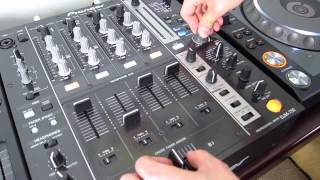 """Quick DJ Tips - Fake scratching with """"Noise"""" on your mixer!"""