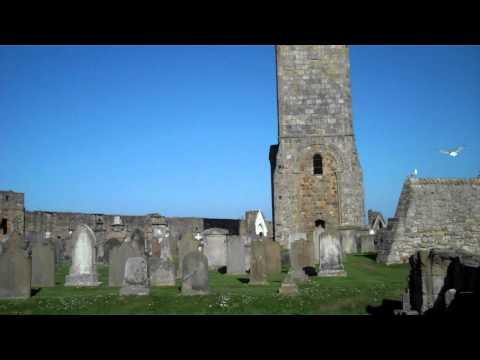 Graveyard St Andrews Cathedral Fife Scotland