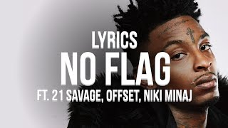 London On Da Track - No Flag (Lyrics / Lyric Video) ft. Nicki Minaj, 21 Savage, Offset