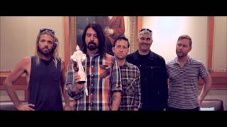 Foo Fighters Win International Group BRIT Award | BRIT Awards 2015