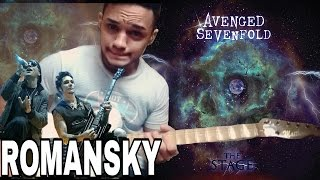 Roman Sky Avenged Sevenfold (Solo cover)NEW SONG 2016 STAGE ALBUM Nova música do novo cd